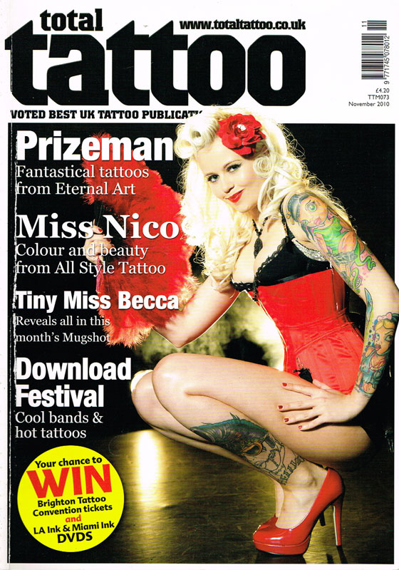 TotalTattoo Presse press miss Nico All Style Tattoo berlin