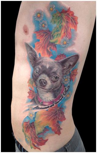 Allstyle Tattoo Berlin Friedrichshain 104 Missnico Dog Chiuaua