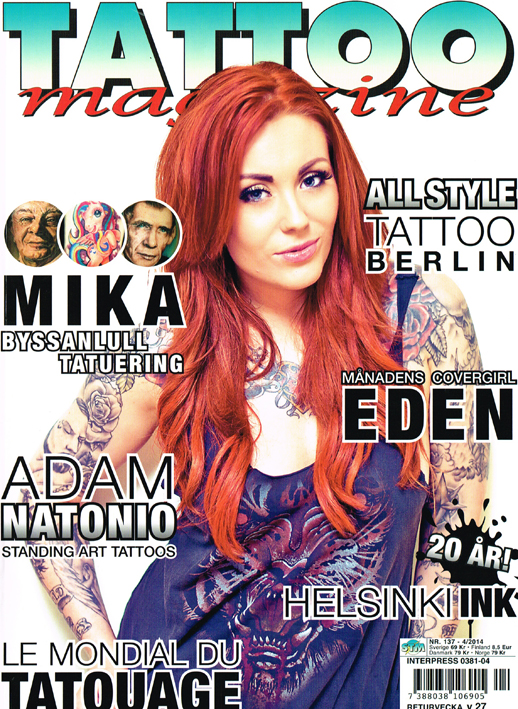 Scandinavian Tattoo Magazine All Style Tattoo titel