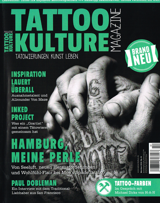Tattoo Kulture Magazine 2-14 AllStyle Tattoo Berlin