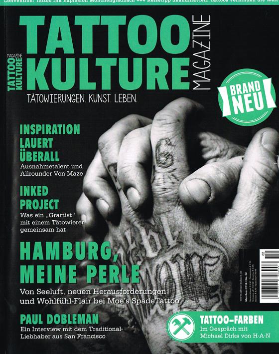 Tattoo Kulture Magazine 2-14 AllStyle Tattoo Berlin