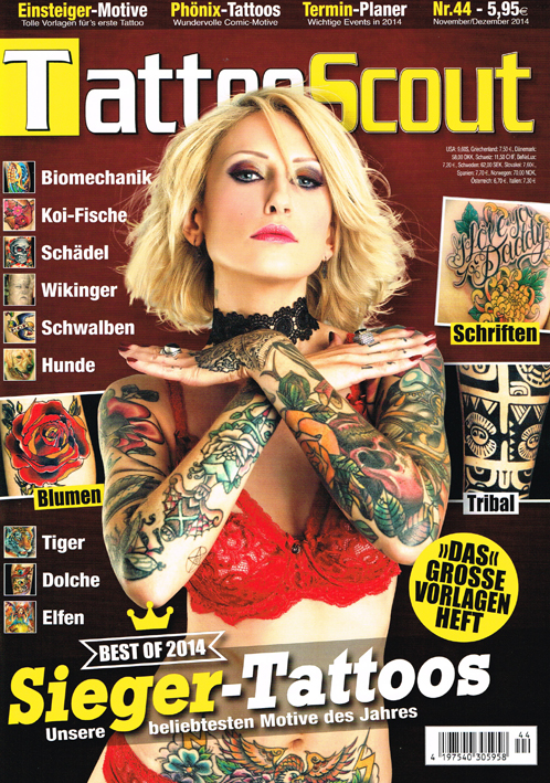 Tattoo Scout 9-14 miss Nico All Style Tattoo titel