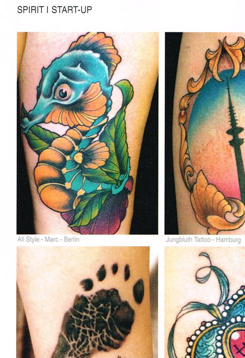 Tattoo Spirit 9-14 Marc Lane All Style Tattoo Berlin