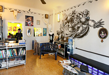 allstyle tattoo widget home01 shop studio laden wartebereich interior