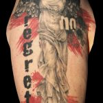miss nico allstyletattooberlin tattoo inked trash nike trashpolka