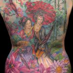 miss nico allstyletattooberlin tattoo inked asiantattoo asaia geishas geisha backpiece rueckentattoo