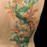 miss nico allstyletattooberlin tattoo inked mamba vanille snake snaketattoo realistic