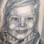 miss nico allstyletattooberlin tattoo inked portrait blackandgrey realistic