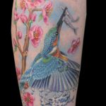miss nico allstyletattooberlin tattoo inked kingfisher eisvogel realistik