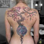 miss nico allstyletattooberlin tattoo inked treetattoo baum lebensbaum yinyan