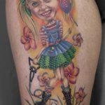 miss nico allstyletattooberlin tattoo inked pueppi dall portrait