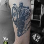 miss nico allstyletattooberlin tattoo inked ebduro durtbike cross racing motorcycle motorcycletattoo blackandgrey