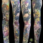 miss nico allstyletattooberlin tattoo inked tankgirl tankgirltattoo comic movietattoo realistic