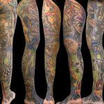 miss nico allstyletattooberlin tattoo inked dali salvadordali dalitattoo arttattoo artist